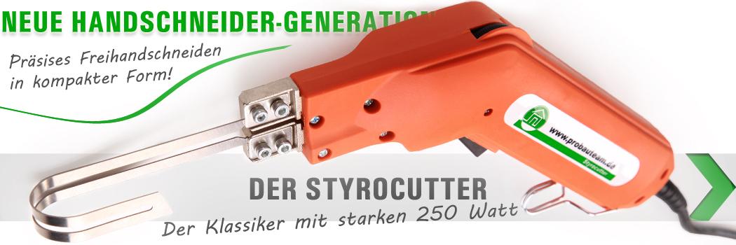 Styroporschneider Styrocutter starke 250 Watt Dämmstoffschneider